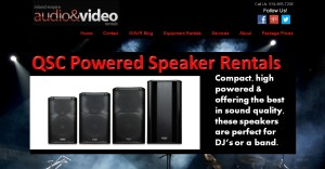 audio video equipment rentals
